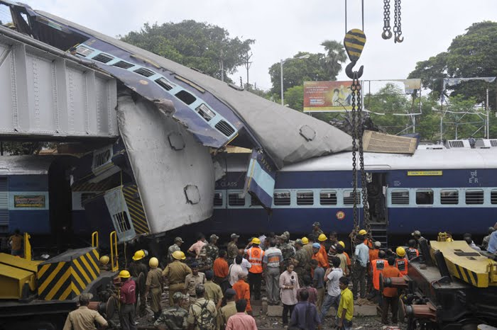Train Accident Photo