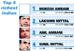 Indian rich list - Mukesh Ambani