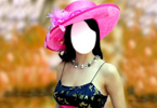 Yana Gupta with pink hat