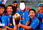 Indian Cricket Players after winning ICC  World Cup 2011
