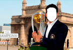 Sachin Tendulkar in front of TAJ Hotel after Winning world Cup